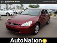 This 2005 Honda Accord Sdn comes with a CARFAX Buyback