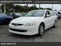 In addition to being well-cared for, this Accord Sdn