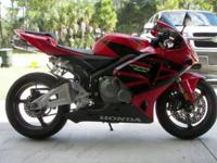 This 2005 Honda CBR 600 RR ,is in excellent condition.
