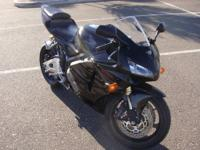 1 owner 2005 Honda CBR Tribal 600RR with 18,307 miles