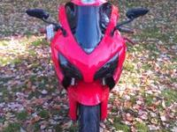 2005 Honda CBR1000RR with 23k miles on it. Comes with