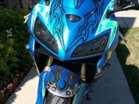 "Clean Title2005 Honda CBR600RR ""The Resurrection"". 1000"