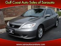 Options Included: N/A2005 HONDA CIVIC COUPE! AUTO! NEW