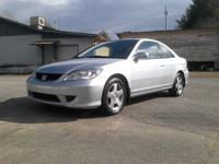 2005 HONDA CIVIC EX COUPE 115,000 miles 4 cyl v-tech