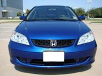 2005 HONDA CIVIC EX 1-OWNER. THIS IS A VERY WELL