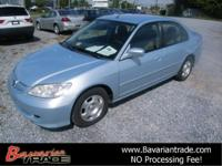 Options Included: N/A2005 Honda Civic Hybrid CVT, great
