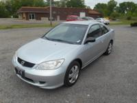 2005 Honda Civic LX Coupe AT w/ Front Side Airbags 4