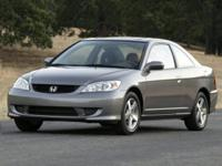 Recent Arrival! 2005 Honda Civic FWD 4-Speed Automatic