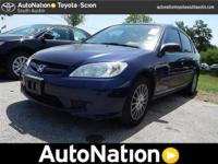 2005 Honda Civic Sdn Our Location is: AutoNation Toyota