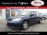 2005 HONDA Civic Sedan LX Our Location is: Tom Kadlec