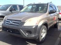 Check out this 2005 Honda CR-V LX. Its Automatic