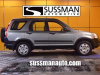 Options:  2005 Honda Cr-V Lx|Thank You For Your