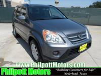 Options Included: N/A2005 Honda CRV, grey with black