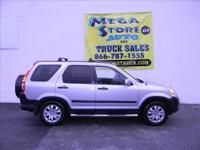 This is a one owner, very reliable, 4 wheel drive CRV