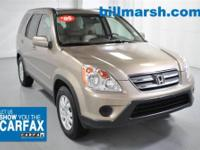CR-V EX-L, 4X4, CD player, Heated front seats, Leather