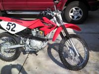 This is a used 2005 Honda CRF 100 in really good