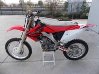 I have a 2005 CRF 250X for sale that is great shape and