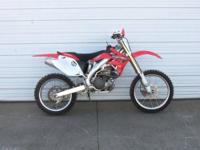2005 Honda CRF450R is in great shape shape with a bunch