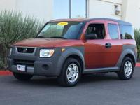 Sunset Orange Pearl 2005 Honda Element LX AWD 2.4L I4