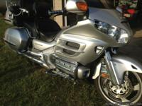 Honda Goldwing GL 1800 sport touring bike. We're the