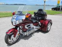 A VERY NICE 2005 GL1800 WITH A 2011 CHAMPION SIDECARS