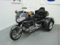 This is a 2005 Goldwing GL1800. It is Portland Grey