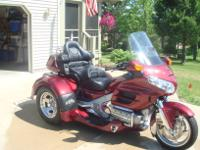 this is a 2005 Honda 1800GL motor-trike. with only 2393