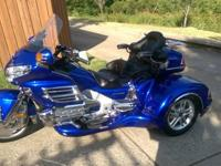 2005 Honda Goldwing 30th Anniversary Edition trike with