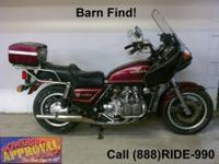 2005 Honda Goldwing - Motorcycle for sale with only