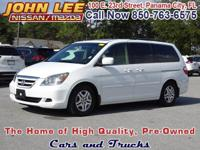 GET A LOW PAYMENT! This 2005 Honda Odyssey EX-L has
