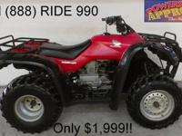 2005 Honda Rancher 350 TRX350 for sale - only $2,499!!