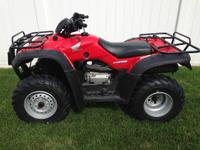 2005 Honda Rancher ES 4x4, FourTrax 350, Elect Shift,