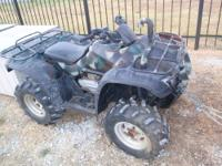 2005 HONDA RANCHER 400AT 4WD 4-WHEELER w/Electronic