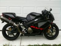 I am selling my 2005 Honda RC51. It has only 1,843