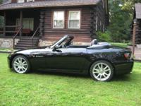 I am providing my 2005 Honda S2000. I bought this