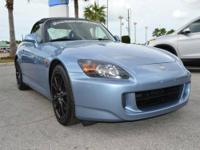 S2000 trim. Excellent Condition, GREAT MILES 39,662!