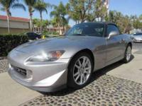 2005 Honda S2000 1.99% APRIL on Approved Credit If you