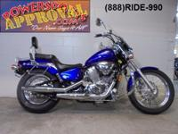 2005 Honda Shadow 600 Deluxe for sale only $1,999!
