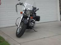 I am offering my 2005 Honda Shadow (750cc) that is in