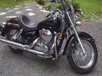 Super Clean! Garage kept 2005 Honda Shadow Aero 750.