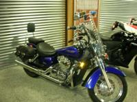 Motorcycles Cruiser 1513 PSN . 2005 Honda Shadow Aero