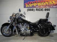 2005 Honda Shadow Aero for sale with only 9,472 miles!