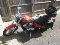 We are selling our 2005 honda shadow motorcycle. It is