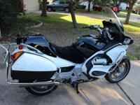 Listing a 1300cc former poilce bike. runs great, no