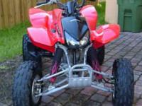 Description Mileage: 0 miles 2005 HONDA TRX400 EX