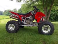 2005 Honda TRX 450R- *Kick Start* Details: Red, Metal