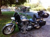 I have a 2005 Honda VTX 1300C in great condition. It is