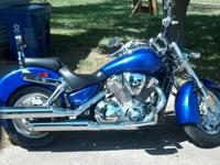 2005 Honda VTX 1800N model for sale. Only 8k Miles. Has
