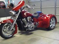 2005 VTX1800R trike - Modified Motortrike kit -
