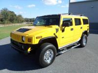 This outstanding example of a 2005 HUMMER H2 SUV is